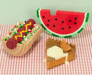 3d beaded picnic favorites