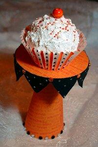 CD Cupcake Stand