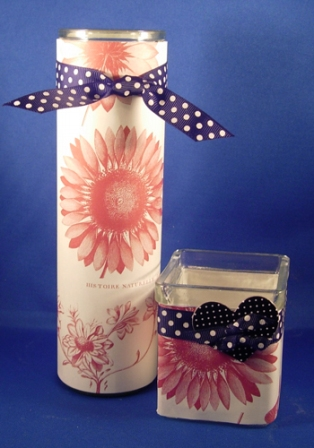 Easy Candle Slip Covers 2