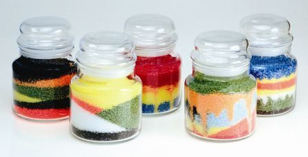 Wax Art Crystals Candles