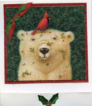 A Beary Merry Christmas Card