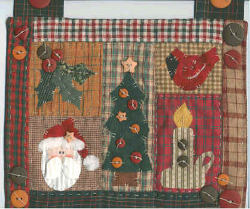 Mini Quilt Christmas Decor