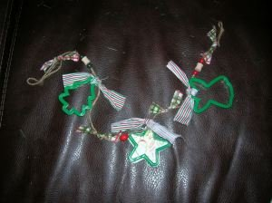 Christmas Cookie Cutter Garland