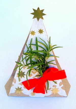 Christmas Tree Napkin Holder