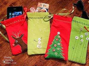 Christmas Keepsake Bags