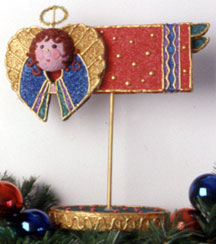 Colorful Angel Christmas Decoration