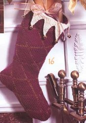 harlequin stocking