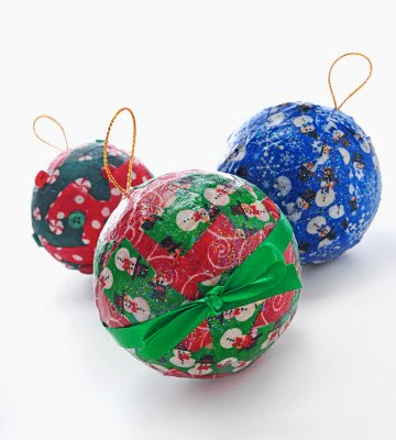 Fabric Scrap Ornaments
