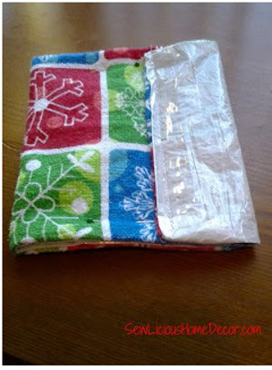 Reusable Christmas Treat Baggie