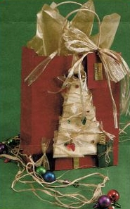 Ribbon Christmas Tree Bag