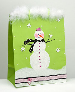 snow queen bag