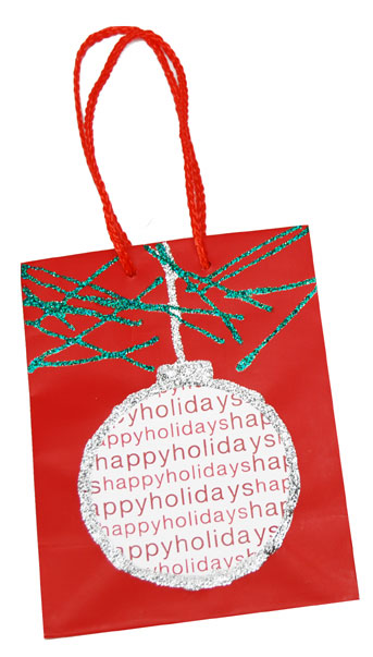 Ornament Christmas Gift Bag