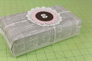 Thrifty Christmas Gift Wrap