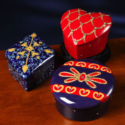Twinkling Keepsake Boxes