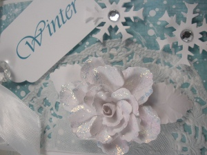 Winter Rose Gift Tag