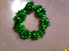 Wreath Pins from Pipe Cleaners