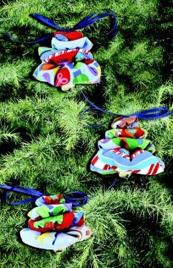 Yo yo fabric ornaments for Yo yo patterns crafts