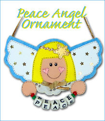 Peaceful Angel Ornament