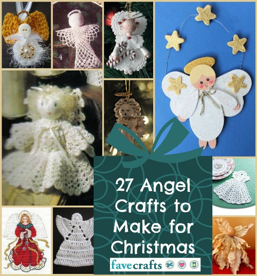 Angel Crafts to Make for Christmas