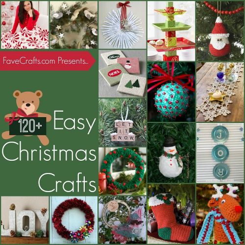 124 Easy Christmas House Crafts