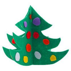felt chrismtas tree
