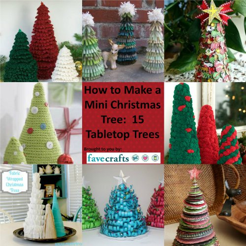 How to Make a Mini Christmas Tree: 15 Tabletop Trees