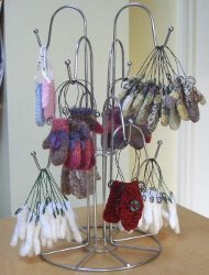Mini Mitten Ornaments