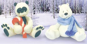 A Pair of Holiday Bears