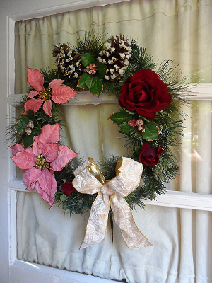 revamped christmas wreath