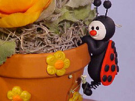 Ladybug Clay Pot Friend Meet the Editor: Jenny