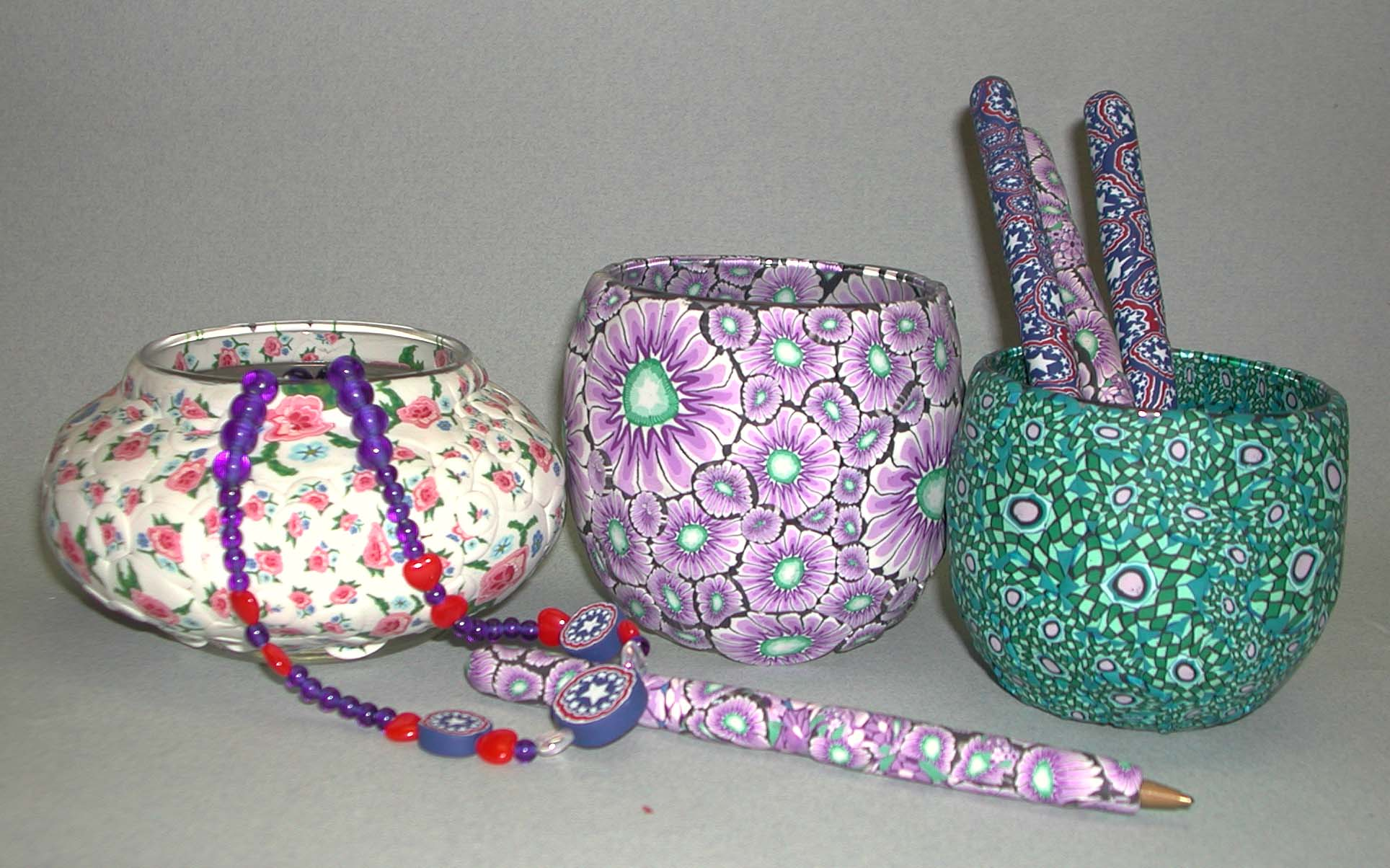 Polymer Clay Cane Crafts