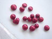Glitter Clay Beads