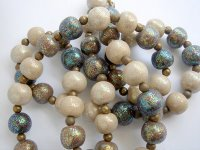 Glitter Bead Necklace