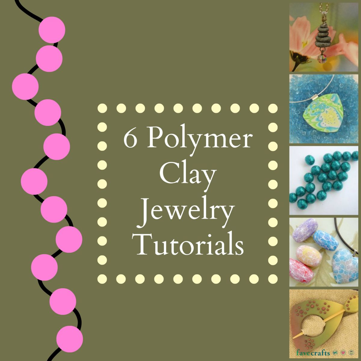 6 Polymer Clay Jewelry Tutorials