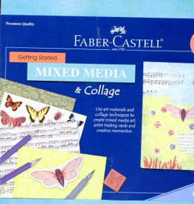 Faber-Castell Getting Started Mixed Media and Collage Kit