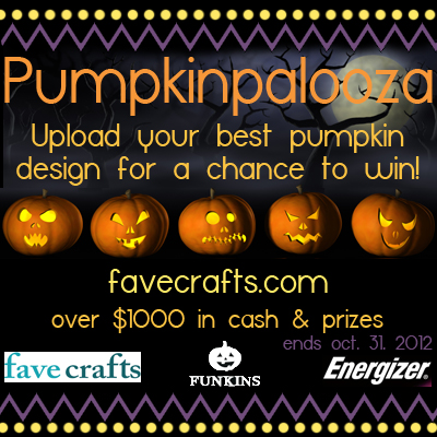 Craft Ideas Decorating Small Pumpkins on Pumpkinpalooza Pumpkin Decorating Contest   Favecrafts Com