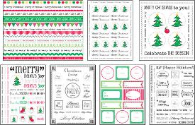 christmas stickers FaveCrafts Giveaway:  Christmas Sticker Kit
