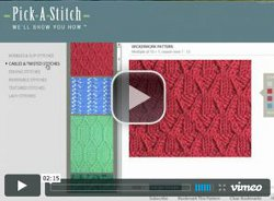 FaveCrafts Giveaway:  Pick a Stitch Knitting Software