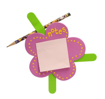 Flower Sticky Notes