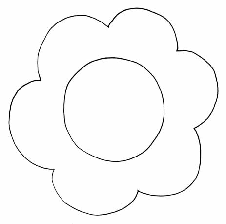 Image Gallery of Simple Flower Patterns To Trace