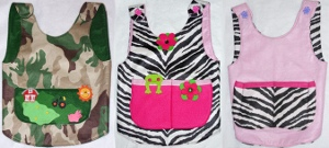 Kids Reversible Aprons