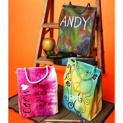 Tie Dye Lunch Bag