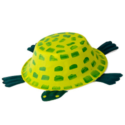 Cute Paper Bowl Turtle