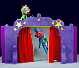 Puppet Theater and Matching Puppets