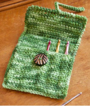A Creative Case for Crochet Hooks