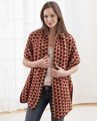 Sweetheart Ruffle Scarf Crochet Pattern | Red Heart
