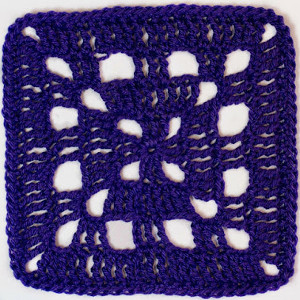 Basic Crochet Square