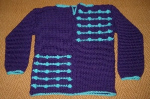 Crochet Bobble Sweater