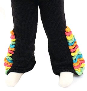 Children's Crochet Bell-Bottoms