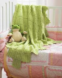 Chunky Lace Blanket